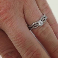 Infinity Engagement Rings And Wedding Bands