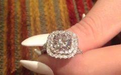 2 Karat Cushion Cut Engagement Rings