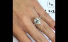 Pear Shaped 2 Carat Engagement Rings