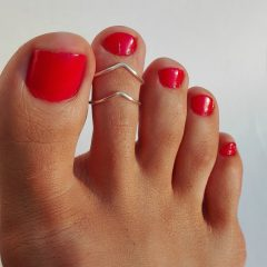 Non Adjustable Toe Rings