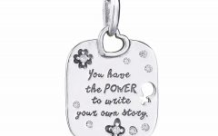 Female Empowerment Motto Pendant Necklaces