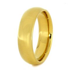 24K Gold Wedding Bands