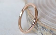 2mm Rose Gold Wedding Bands