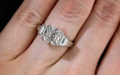 Asscher Cut Wedding Rings