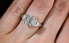 Asscher Cut Wedding Rings