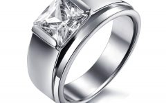Stainless Steel Wedding Bands for Her