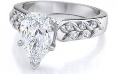 Pear Shaped Engagement Ring Settings