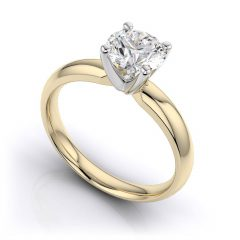 Traditional Gold Engagement Rings