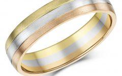 Three Gold Wedding Rings