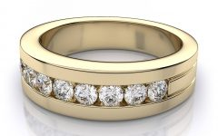Gold Diamond Wedding Rings For Men