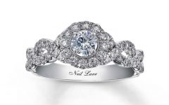 Intricate Band Engagement Rings
