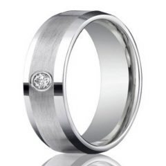 Wedding Band Mens Platinum