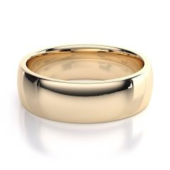 Yellow Gold Wedding Bands For Men
