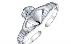 Claddagh Toe Rings