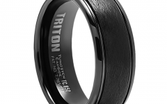Tungsten Titanium Wedding Bands