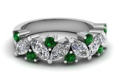 Emerald Wedding Rings for Women