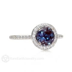 June Birthstone Engagement Rings