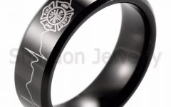 Firefighter Wedding Bands