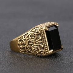 Medieval Style Engagement Rings