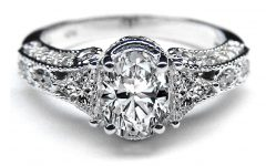 Diamond Vintage Style Engagement Rings