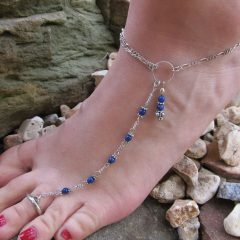 Anklets With Toe Rings