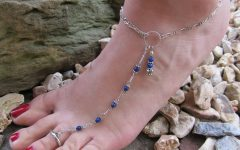 Ankle Bracelet Toe Rings