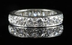 Wedding Rings With Diamonds All The Way Around