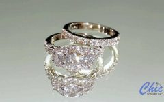 White Gold Zirconia Wedding Rings