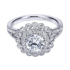 Old Fashioned Style Wedding Rings