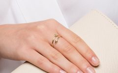 Wrap-around Arrow Rings