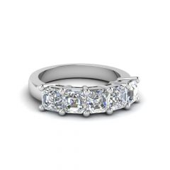 Five Diamond Wedding Bands