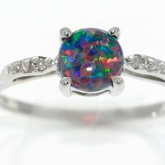 Australia Opal Engagement Rings