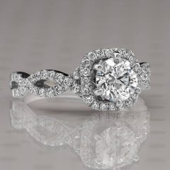 Infinity Style Engagement Rings