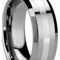 Trendy Mens Wedding Bands