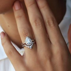 Wedding Band For Pear Shaped Engagement Rings