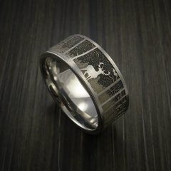 Outdoorsman Wedding Bands