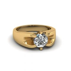 Gold Mens Engagement Rings