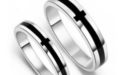 Mens Black Onyx Wedding Rings