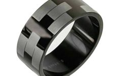 Black Steel Wedding Bands