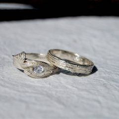 Tree Branch Engagement Rings