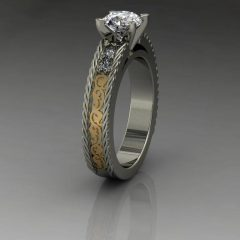 Custom Design Wedding Rings
