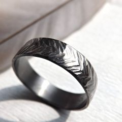 Men's Chevron Rings