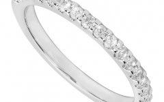 Diamond and Platinum Wedding Rings