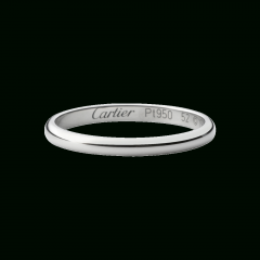 Cartier White Gold Wedding Bands