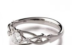 Vintage Celtic Engagement Rings