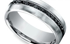 Black Platinum Wedding Bands
