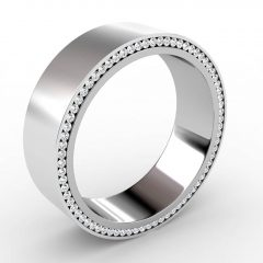Mens Wedding Bands Platinum With Diamonds