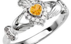 November Birthstone Engagement Rings