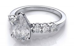 Pear Shaped Settings Engagement Rings