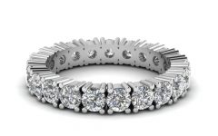 Platinum Eternity Wedding Bands